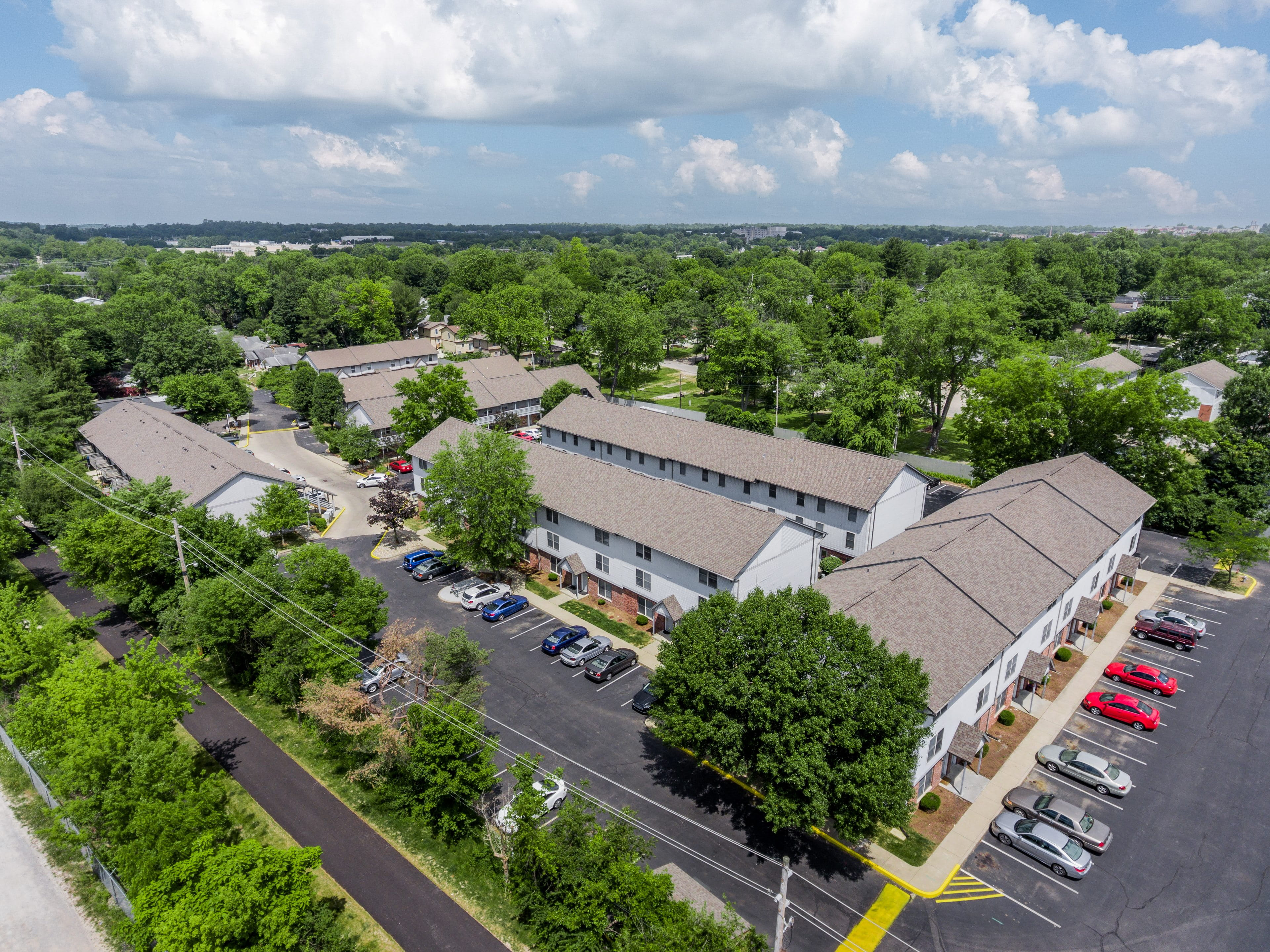 Hoosier Court Apartments Bloomington Indiana