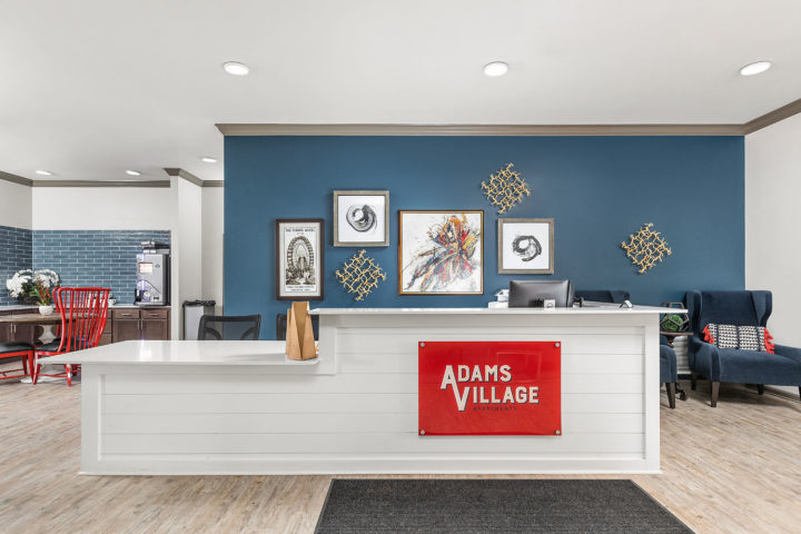 Adams Village Leasing Desk
