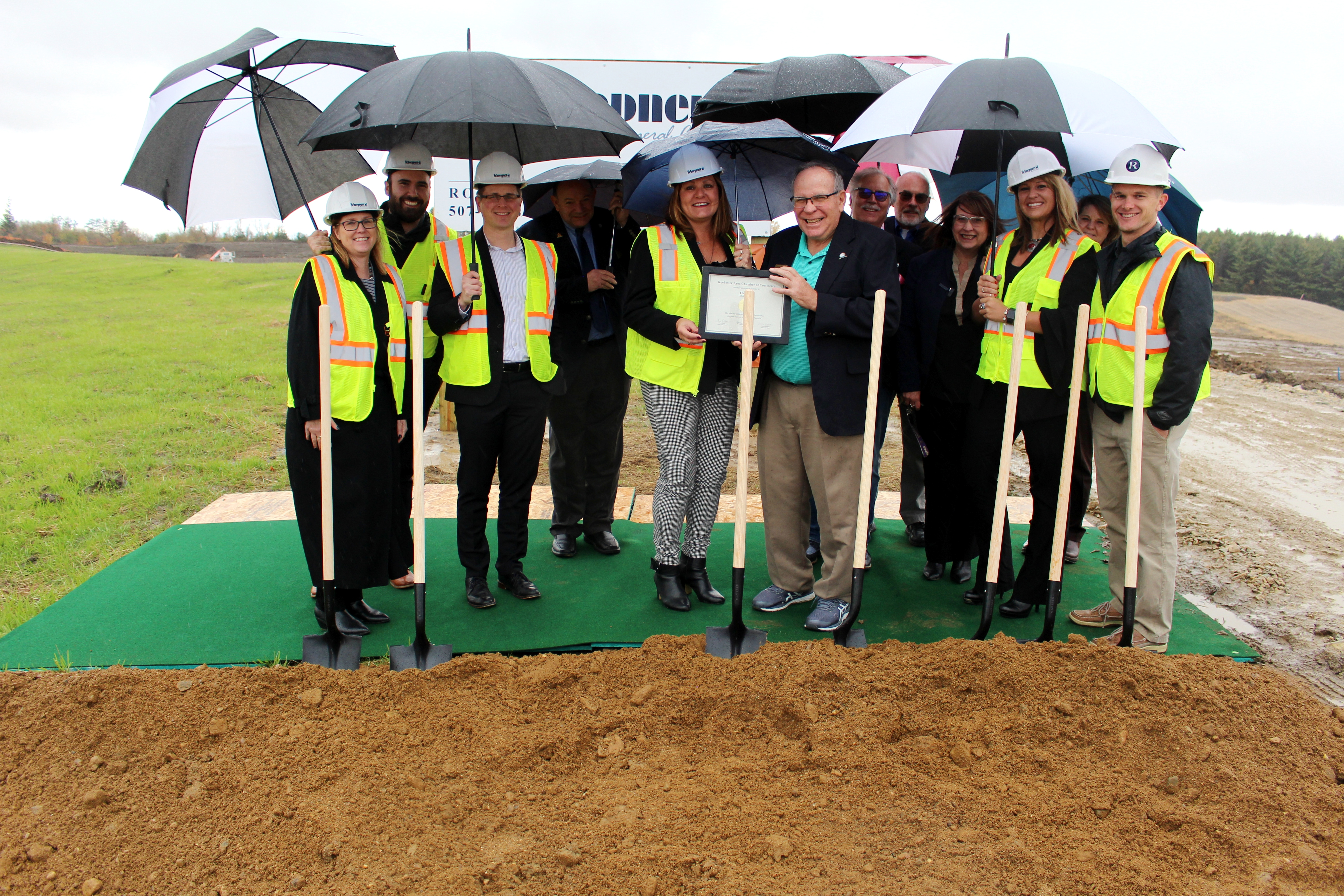 Ground Breaking at Pines
